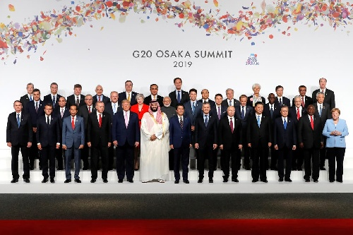 El presidente argentino en la Cumbre del G20 en Osaka , Japón