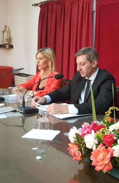 El intendente Notararigo inauguró el 37º período de Sesiones Ordinarias  del HCD