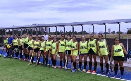 Hockey Femenino - SudOeste jugó amistosos en Tres Arroyos.