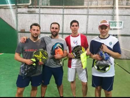 Padel - Javier Meyer y Dionel Garcia se quedaron con torneo de 6ta división.
