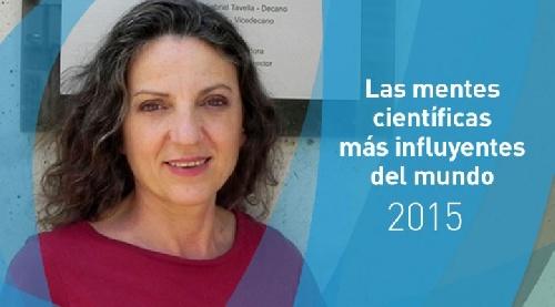 Entre las mentes científicas más influyentes del mundo Sandra Diaz, docente de la Universidad de Córdoba e Investigadora del Conicet