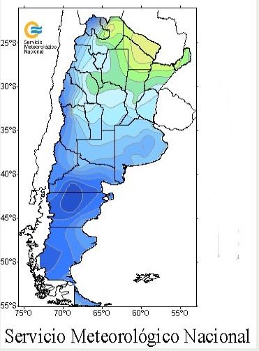 El frío anticipa el otoño - Próximas horas con tormentas fuertes y lluvias abundantes en gran parte del país