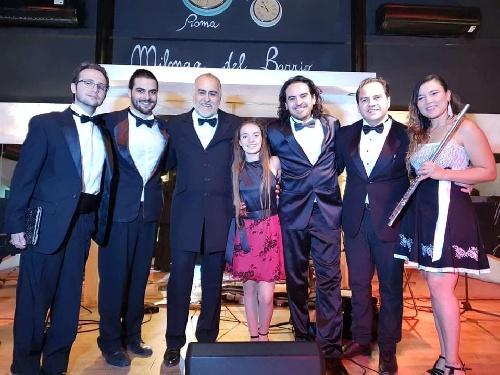 Valentina Etchebest con la Orquesta San Luis Tango actuarán en Europa