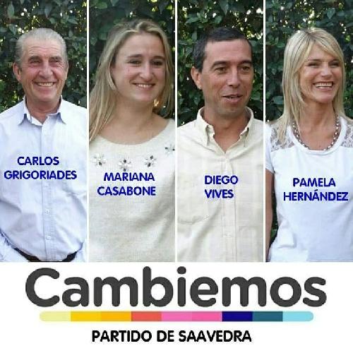 Carlos Grigoriades encabeza las pre candidaturas de Cambiemos Buenos Aires