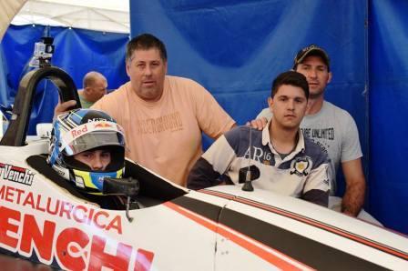 Formula Renault Pampeana - Franco Venchi resultó 3° en la tanda sabatina.