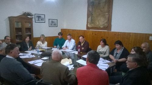 Reunion de Comisiones en el HCD del Distrito