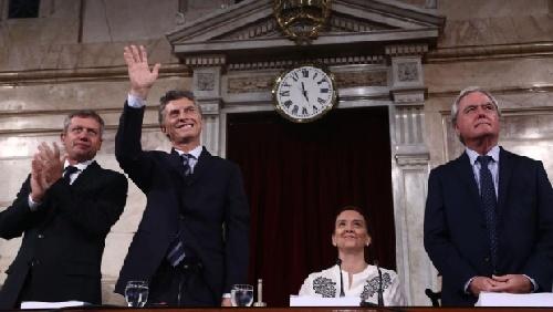 """Todo Macri en el Congreso: """"No aflojemos, ratifiquemos nuestra convicción por el cambio"""""""