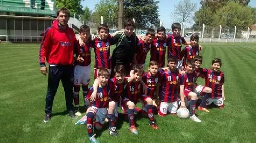 Futbol Infantil Cat 2004 - El Fortín Ganador del torneo en Coronel Suárez. Peñarol llegó a 4tos de final.
