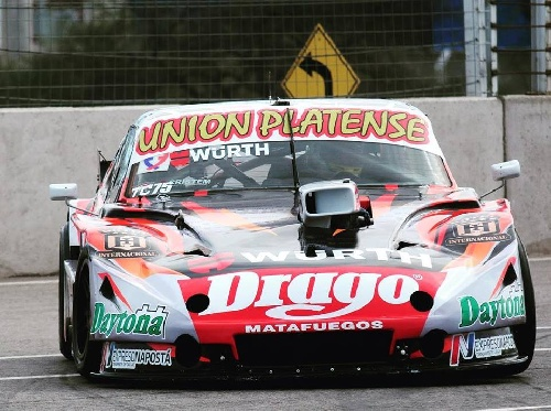 Turismo Carretera - Sergio Alaux segundo en la serie - Larga la final en la fila 3.