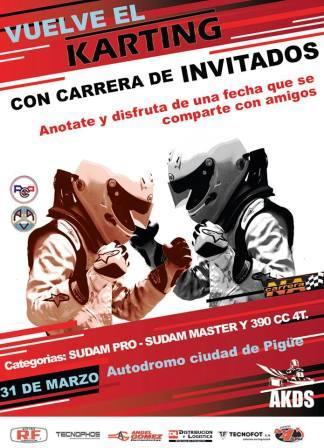 Karting - Vuelve la actividad al Ciudad de Pigüé en tres categorías.