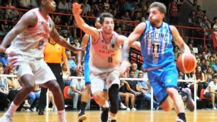 Liga Argentina - Con 17 puntos de De Pietro, Racing batió a Ciclista de Junín.