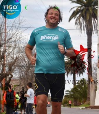 Marcos Gottfridt participó en el Sprint de el Hombre de Piedra en Tandil.
