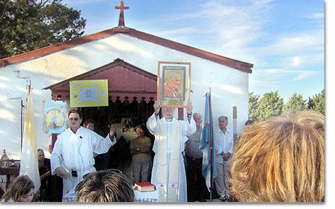 Se realizará una peregrinación a Paso Mayor en Abril