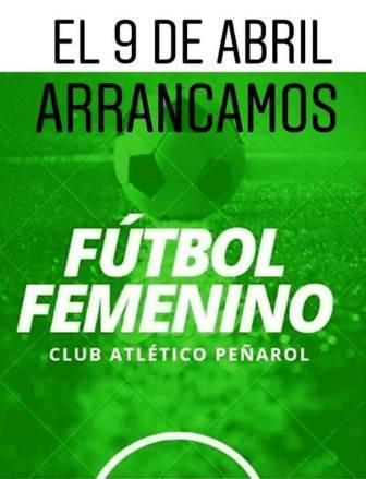 Fútbol Femenino - Peñarol de Pigué lo incluye en su amplia agenda.
