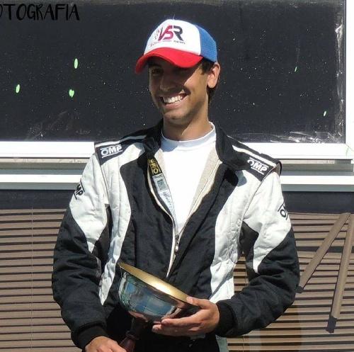 Categorías del Sudoeste - Bruno González hizo podio en Viedma.