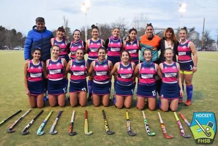 Hockey Femenino - 1ra división - Victoria del Cef 83 que le permite ser líder.