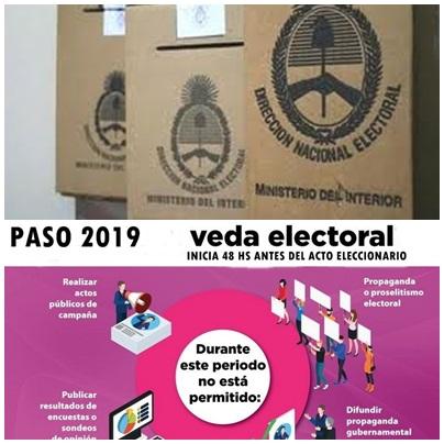 Alcances de la veda electoral