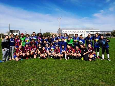 Fútbol Femenino - Las chicas del Depor jugaron su primer amistoso.