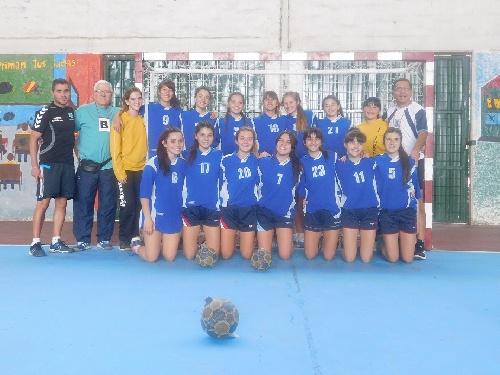 Handball Femenino - La ABSOBA Cadetes Femeninos B quedó segundo y asciende al Cadetes A 2017.