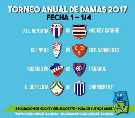 Hockey Femenino - El sábado comienza la actividad de la Asociación.