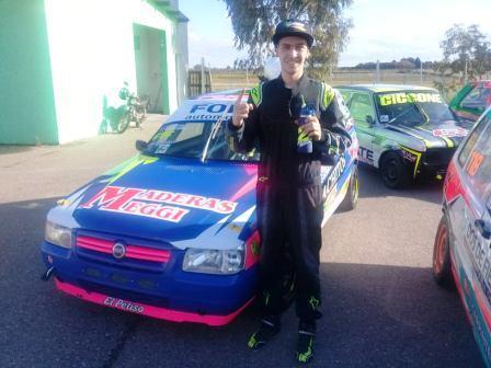 Gran Turismo de la Comarca - Gian Marco Recchi clasificó 1° en Viedma.