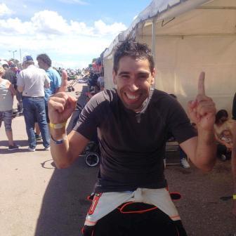 Karting - Fernando Gómez Fredes se consagró campeón Master.