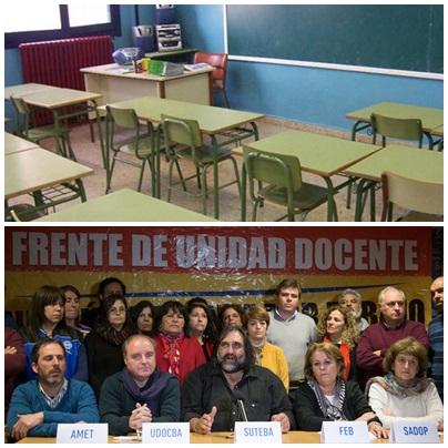 SUTEBA SAAVEDRA - FRENTE DE UNIDAD DOCENTE BONAERENSE  1era reunión paritaria