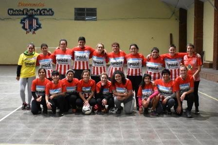 Fútbol Femenino - Unión Pigüé jugará su 1° amistoso en Carhué.
