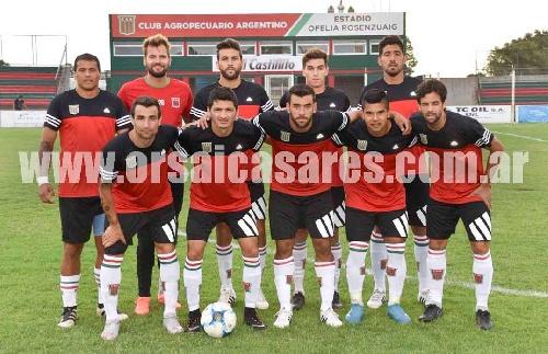 Empate en cero de Agropecuario ante Atlético 9 de Julio - Martín Prost presente en el elenco titular.