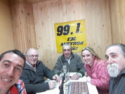 CARLOS GRIGORIADES, MARIANA CASABONE, DIEGO VIVES Y JUAN CARLOS CARRIQUE DE CAMBIEMOS BUENOS AIRES