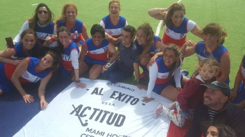 Hockey Femenino Mamis - Cef 83 Campeón del Torneo Anual de la AHSO.