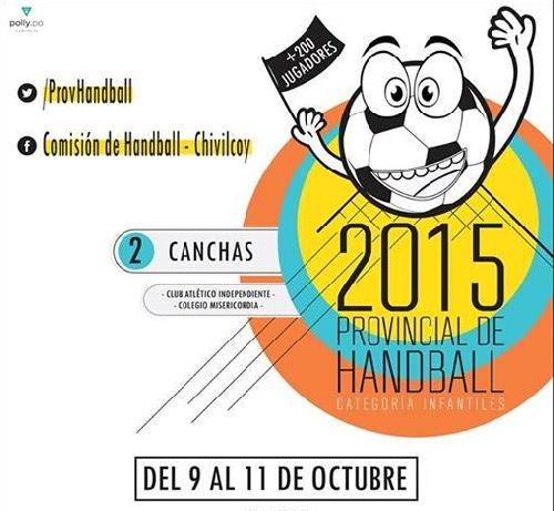 Handball Provincial Infantiles - Club Sarmiento debuta ante Tandil