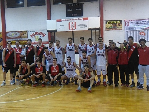 Basquet Federal - River Plate con David Fric cayó en la final del Super 4 de Pilar.