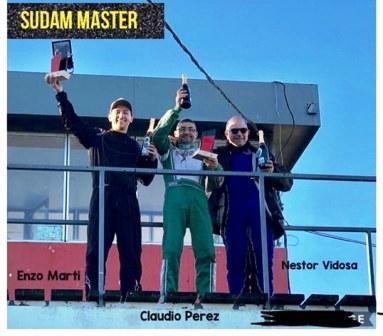 Karting del Sur - Enzo Marti fue 3° en la final de SudamMaster.