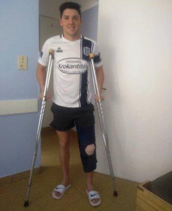 Pasado un mes de su lesión fue operado Bautista Vigoroux.