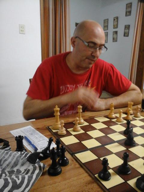 Ajedrez - Dellapittima se quedó con el Blitz de octubre.