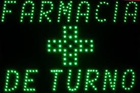 Cambios de Farmacias de turno en Pigüé