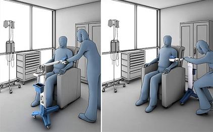 Novedoso detector de venas