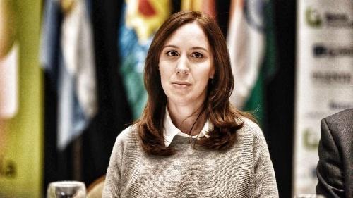 """Maria Eugenia Vidal  """" En Cambiemos no nos financiamos con la droga"""""""