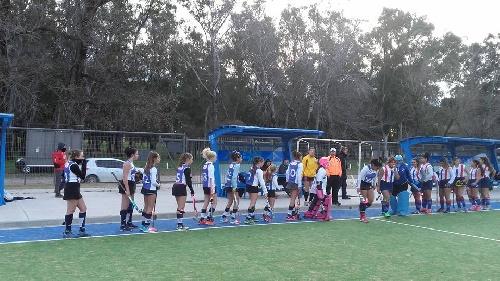 Hockey Femenino - Sarmiento y el Cef 83 son semifinalistas en 7ma división .