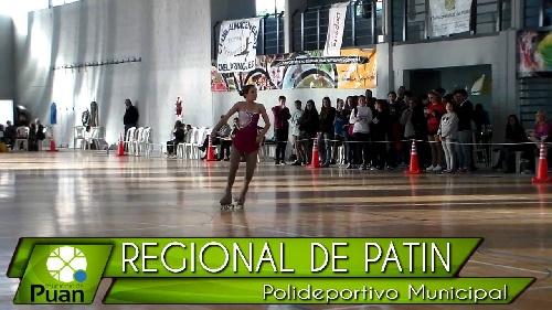 Patín - Torneo Regional en Puán - Participación patinadores locales.