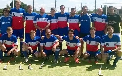 Hockey Masculino - Goleada del Cef 83 ante el debutante Club Sarmiento por la Asociación Bahiense.