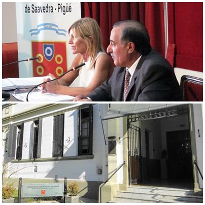 Pigüé: Apertura del pèríodo de Sesiones Ordinarias en el H:C:D del Distrito de Saavedra