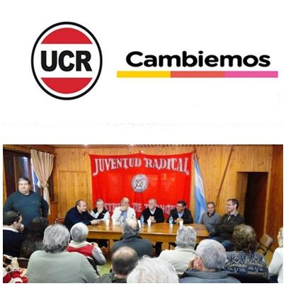 """UCR en CAMBIEMOS Reunón Seccional en Tornquinst """" pleno apoyo a la Gobernadora Vidal y el Presidente Macri"""""""
