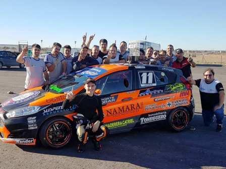 TN - Clase 2 - Gastón Iansa ganó su primer carrera en la categoría.