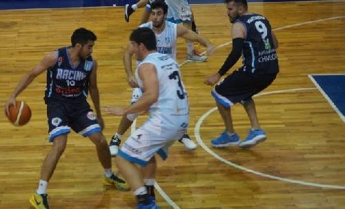 Basquet Federal - Racing de Chivilcoy derrotó a Argentino de Pergamino y sigue en la punta - 14 puntos de De Pietro.