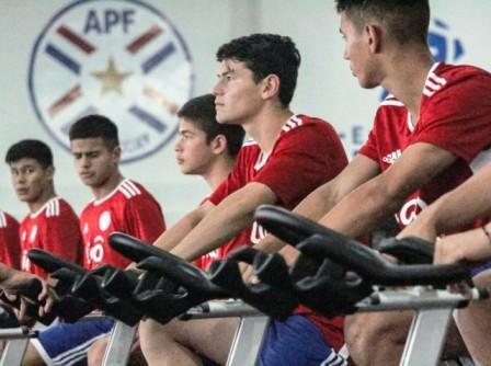 Gabriel Mercado con la Selección Paraguaya enfrenta en semifinales a Brasil.