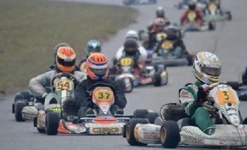 Los Karting se hicieron presente en el Autódromo Ciudad de Pigüé.