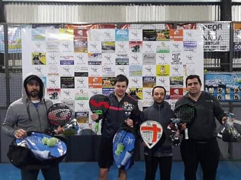 Padel: Velazquez – Lagrimal finalistas en Coronel Suarez