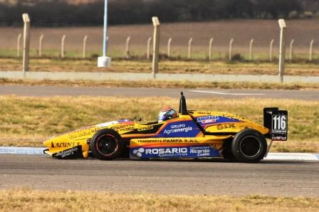 Fórmula Pampeana - Diego Farina lidera el campeonato.